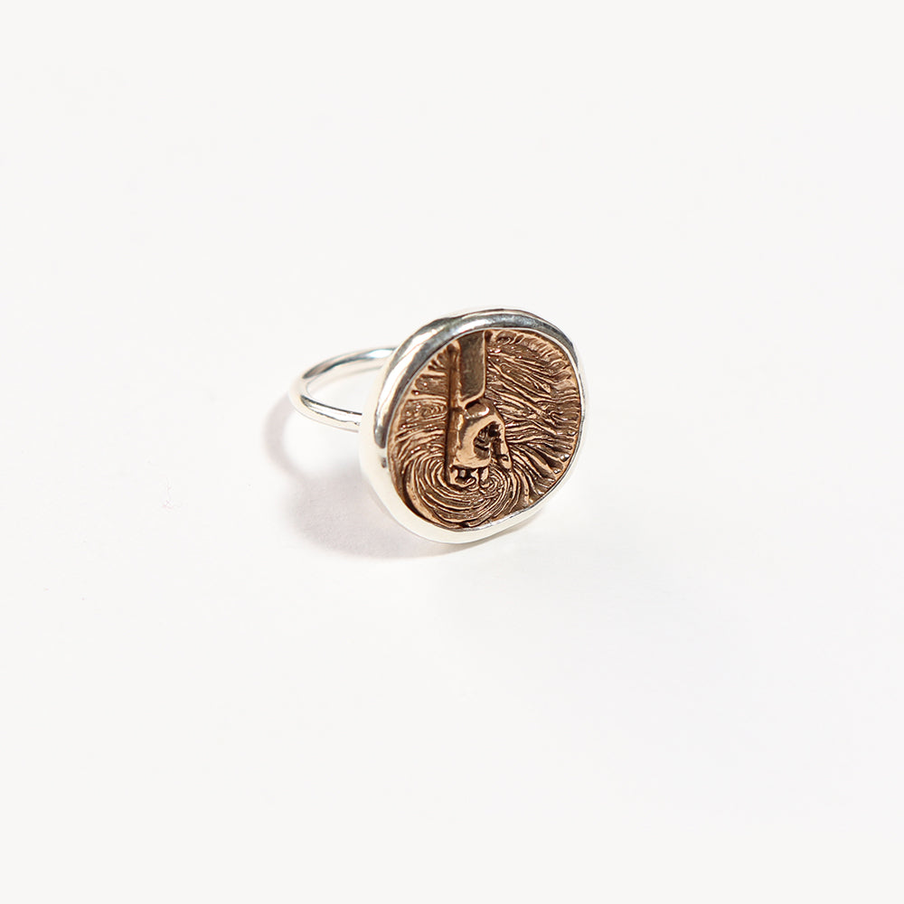 Medallion Elementos Ring - Water