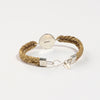 Straw Into Gold Woven Bracelet - Air