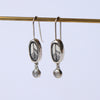 Air Elementos Gemstone Charm Earrings
