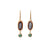 Earth Elementos Gemstone Charm Earrings