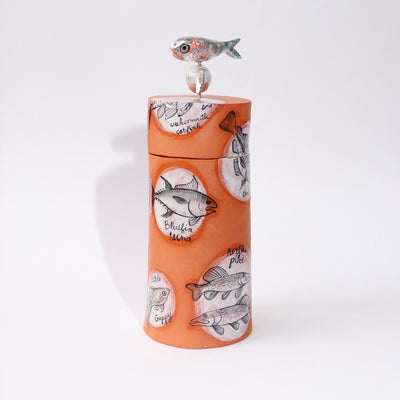 Fish Types Necklace Jar