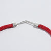 Red Flora Fishtail Collar