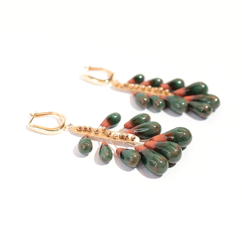 Forest Floor Earrings