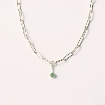 Adventurine Fossa Necklace