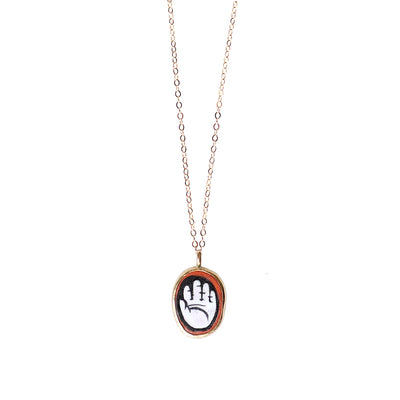 Manifesting Hand Necklace