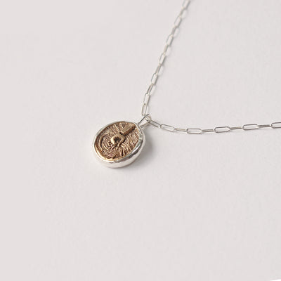 Medallion Elementos Necklace - Water