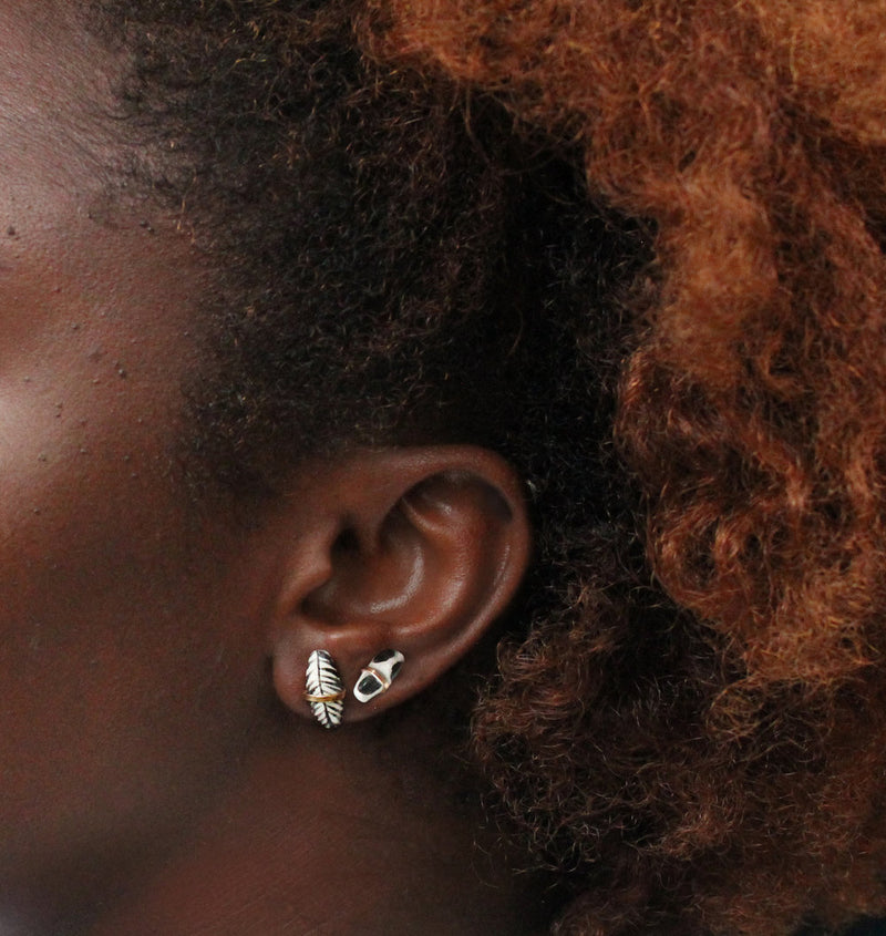 Mursi Post Earrings