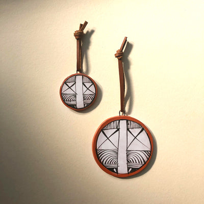 OLD ORAIBI TERRA COTTA WALL HANGINGS / ORNAMENTS