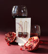 Regalo Long Terra Cotta Earrings - Malbec