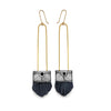Regalo Long Tassel Earring - Nightswimming