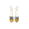 Regalo Shortie Earring - Citron
