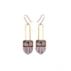 Regalo Shortie Earring - Lilac