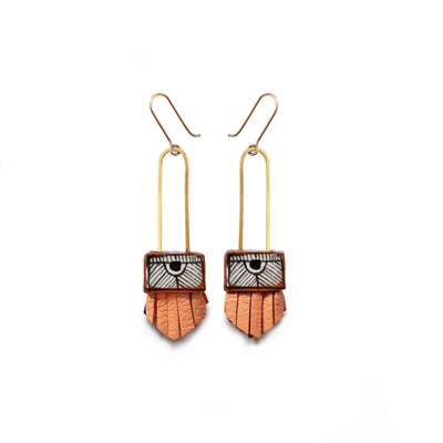 Regalo Shortie Earring - Melon