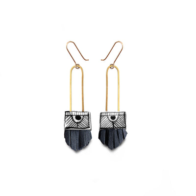 Regalo Shortie Earring - Nightswimming