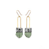 Regalo Shortie Earring - Seafoam