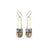 Regalo Shortie Earrings - Golden
