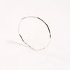 Wabi-Sabi Bangle - Silver