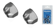 "Wheel Nut 7/16"""" (HT) (Pack of 5) (Clam Shell)"