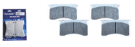 MECHANICAL STAINLESS STEEL BRAKE PAD SET (4)
