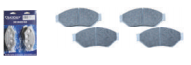 HYDRAULIC STAINLESS STEEL BRAKE PAD SET (4)