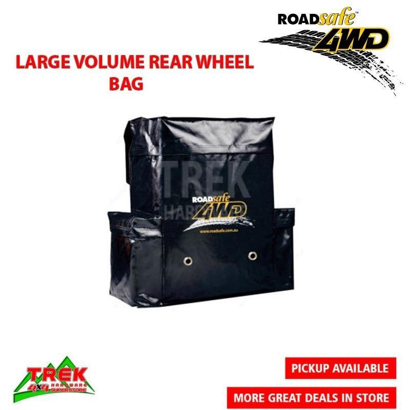4WD   LARGE VOLUME WHEEL BIN WITH ROADSAFE LOGO - Trek Hardware