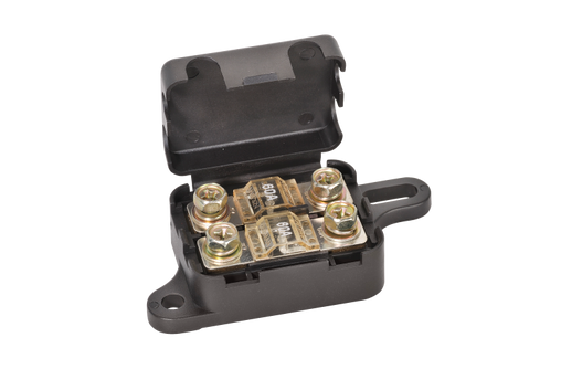 TWIN IN-LINE ANG/ANS FUSE HOLDER WITH COVER