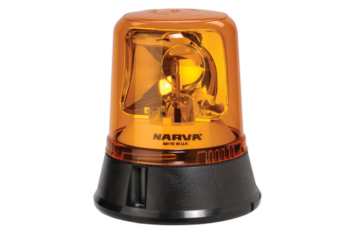 Optimax Rotating Beacon (Amber) 12/24 Volt
