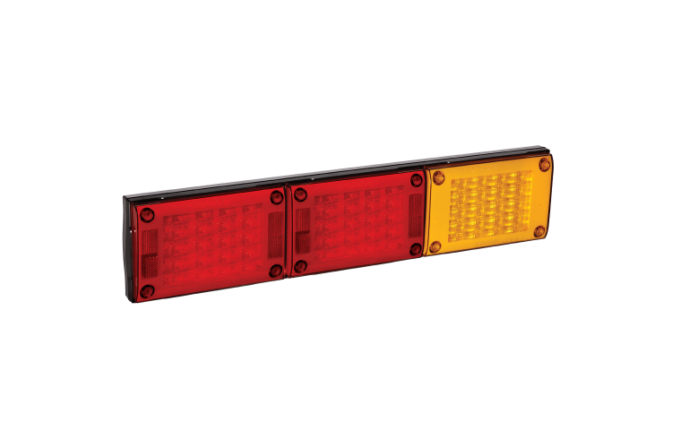 9–33 VOLT MODEL 48 L.E.D REAR DIRECTION INDICATOR AND TWIN STOP/TAIL LAMP