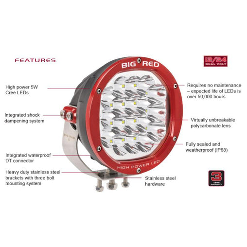 Big Red 180 High Power LED