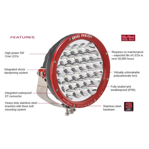 Big Red 220 High Power LED