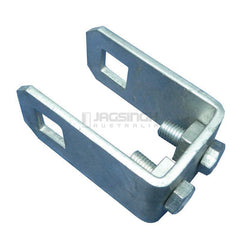 Galvanized Post Clamp