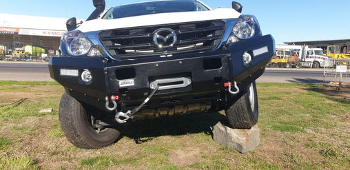 Bullbar No Loop Mazda BT50 2012+ - Trek Hardware