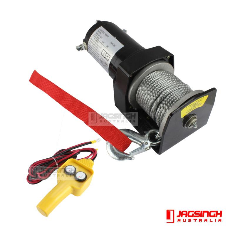 Electric Winch 2000lbs (907kg)