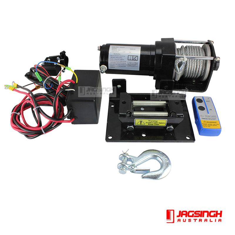 Electric Winch 3000lbs (1360kg)