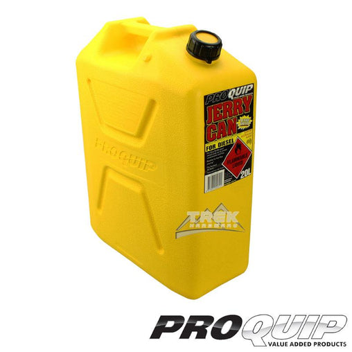 Fast Flow 20L Plastic Fuel Can Yellow (Diesel)