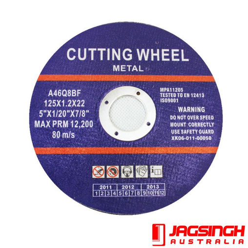 Grinder Cutting Disc 125x1x22