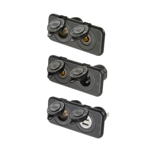 Heavy-Duty Twin Sockets