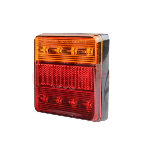 Tail Light LED 100 X 100 (12V) Stop/Tail/Indicator