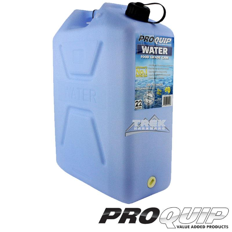 Light Blue Water Jerry Can 22L With Tap