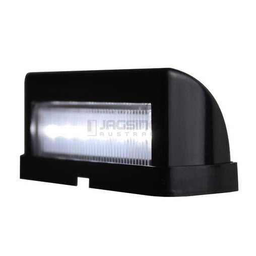 Number Plate Light 10-30V Black