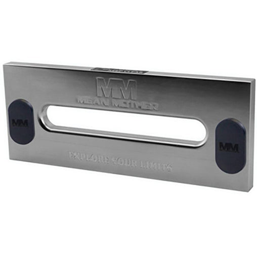 Polished Alloy Fairlead With mm Logo