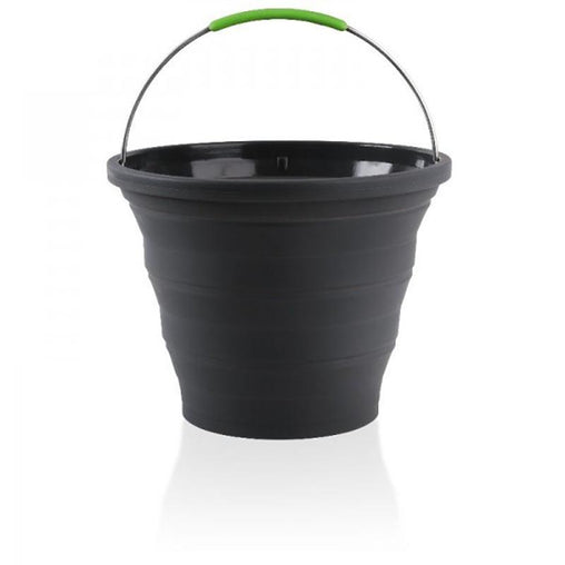 Pop Up Compact Bucket 10L Grey