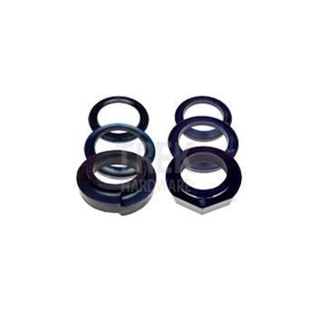 R+O Black Coil Spring Spacer 30mm