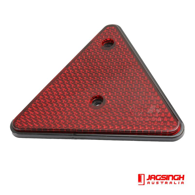 Red Triangle 152mm X 110mm Screw In
