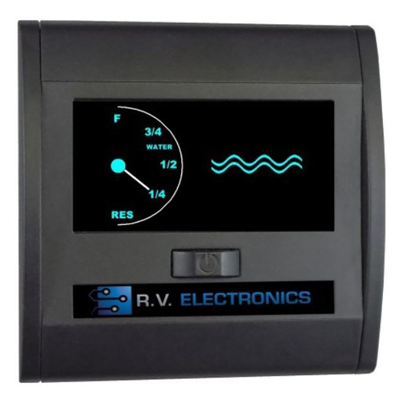Single Water Tank Gauge Lcd