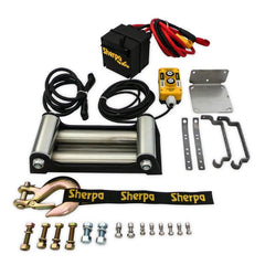 Sherpa 4X4 25,000Lb Cable | Rope Winch