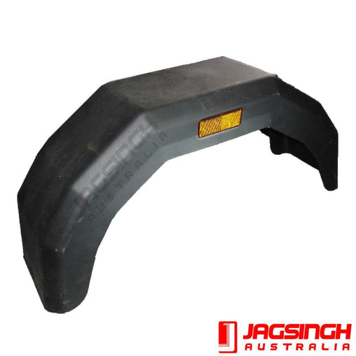 Single Axle 4 Fold Plastic Mudguard
