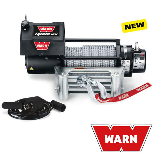 Tabor 12V Self Recovery Winch 24M Wire Rope