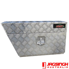 Aluminium Tool Box 750/580 X 250 X 400 (L/R Avail) (1.5 mm Thick)