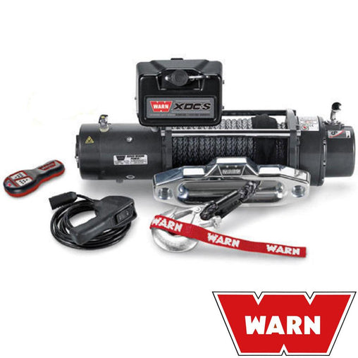 Xdc S 12V Self Recovery Winch 24M Synth. Rope W/ Wireless Remote